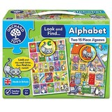 Small orchard toys look and find alphabet jigsaw puzzle