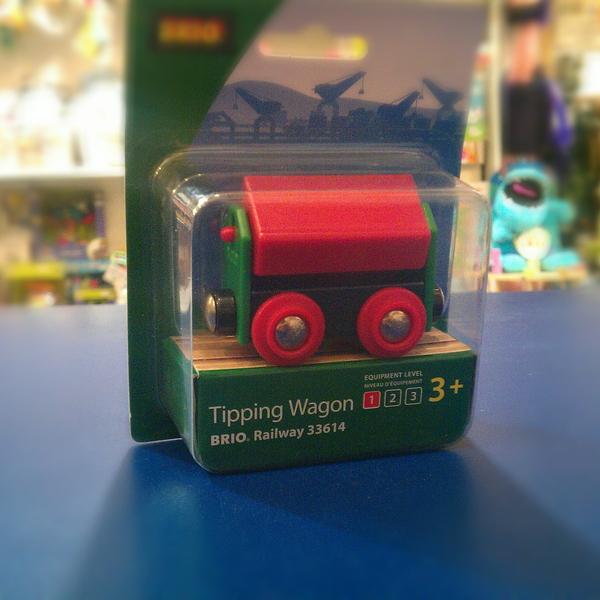 Large tipping wagon brio wooden railway