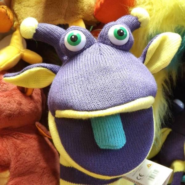 Large rupert sockette long sleeve puppet alien monster