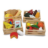 Small fun junction melissa and doug food groups dairy fruit vegetables cereal meat fish protein baskets