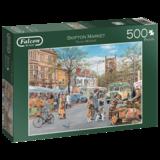 Small falcon skipton market 500pc jigsaw puzzle