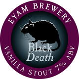 Small black death 100mm roundel