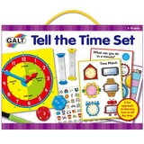 Small fun junction independent toy shop crieff perth perthshire scotland galt tell the time set early school sand timers clocks board hourglass games