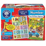 Small orchard toys look and find number jigsaw puzzle