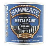 Small ham met paint smooth black 250ml
