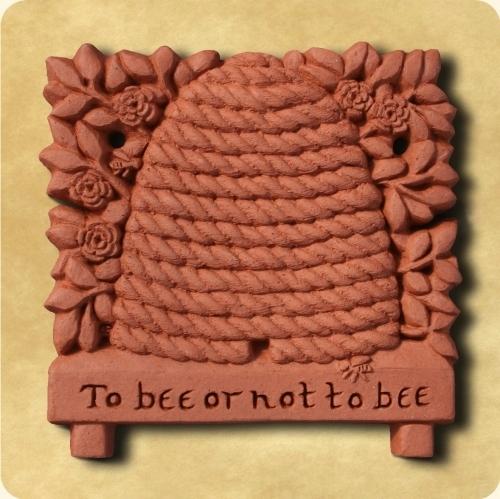Large honey bee