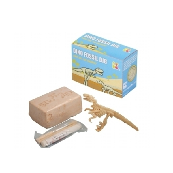 Large keycraft dino fossil dig excavate archaeologist archaeology dig a dino pocket money