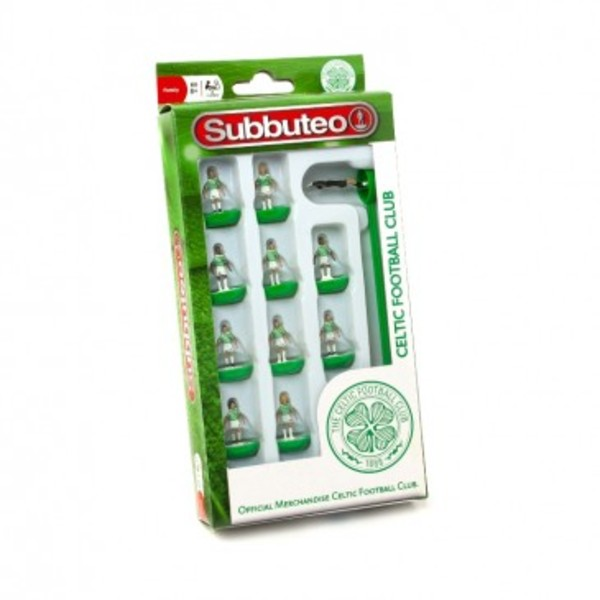 Large player celtic team subbuteo table top football