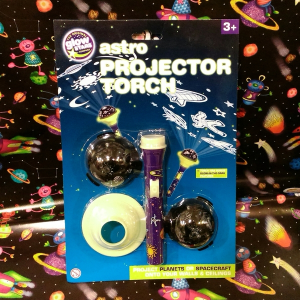 Large astro space projector torch