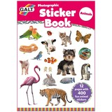 Small galt photographic sticker book animals