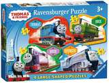 Small ravensburger fun junction toy shop perth crieff perthshire scotland jigsaw puzzle jig saw thomas 4 large shaped puzzles 4005556070787